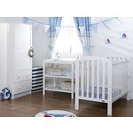 more details on Obaby Lily 3 Piece Nursery Furniture Set - White.