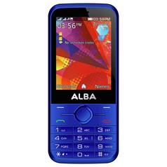 SIM Free Alba Mobile Phone - Blue