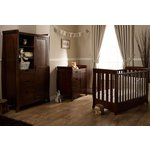 more details on Obaby Lincoln Mini Sleigh 3 Piece Furniture Set – Walnut.