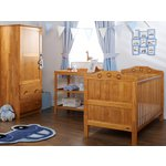 more details on Obaby Lisa 3 Piece Nursery Furniture Set - Country Pine.