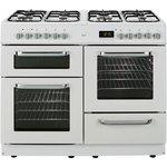 more details on Bush BCLU100DFW Dual Fuel Cooker- White.
