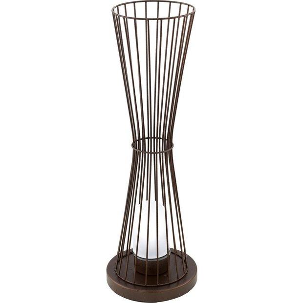 Buy eglo terrico tall outdoor steel floor light at argos for Floor lamp babies r us