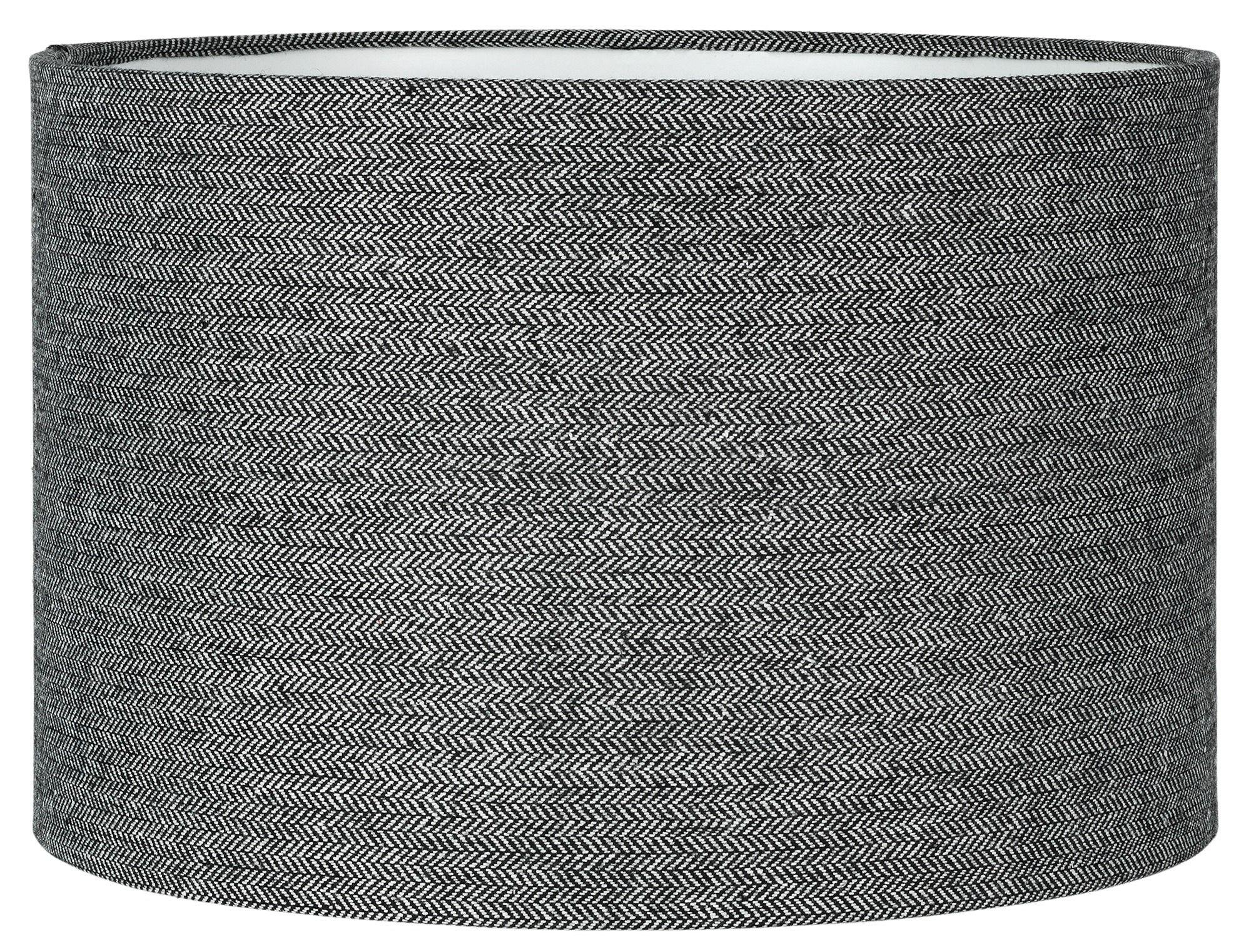 Collection Larkhall Textured Shade   Black And Grey