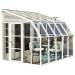 more details on Palram Rion White Sun Room - 8 x 10ft