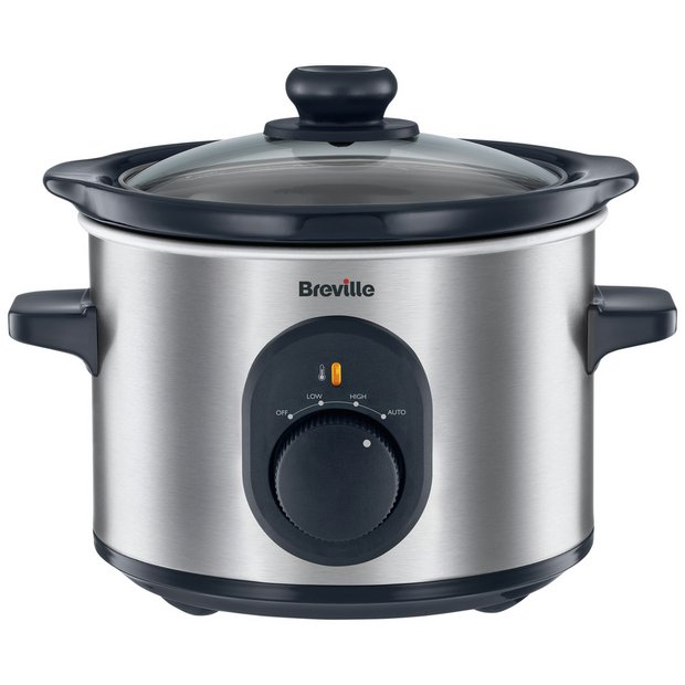 buy breville 1 5l compact slow cooker stainless steel at. Black Bedroom Furniture Sets. Home Design Ideas