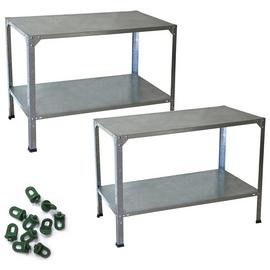 Palram Greenhouse Accessories Work Bench+.