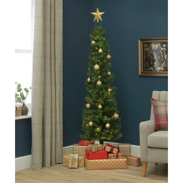 Artifical Christmas Trees.Buy Argos Home 6ft Pencil Christmas Tree Green Artificial Christmas Trees Argos