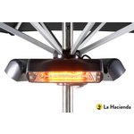 more details on La Hacienda Parasol Mounted Heatmaster Slimline Patio Heater