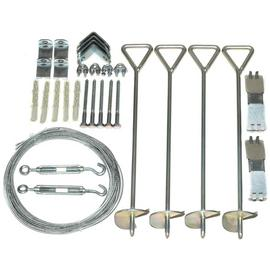 Palram Greenhouse Accessories Anchoring Kit.