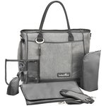 more details on Babymoov Essential Changing Bag - Smokey Grey.