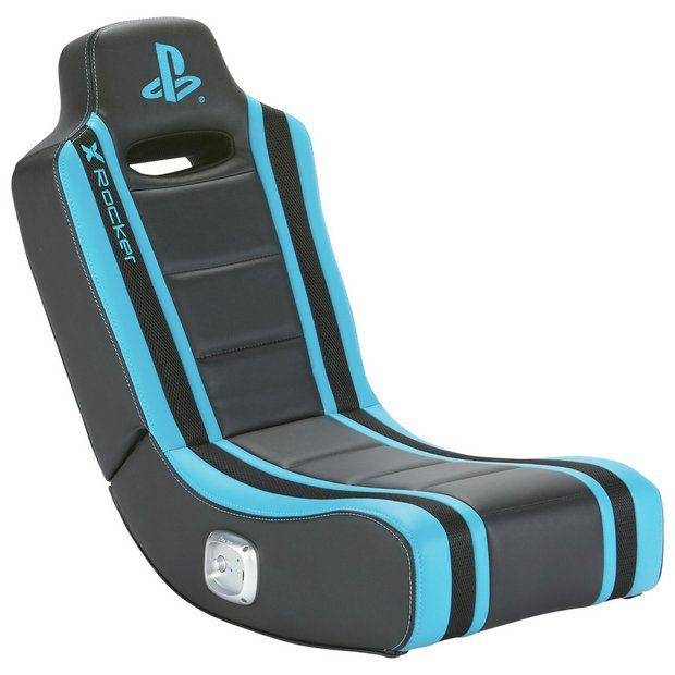 Admirable Buy X Rocker Geist Officially Licensed Playstation Gaming Chair Gaming Chairs Argos Pdpeps Interior Chair Design Pdpepsorg