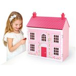 more details on Chad Valley Wooden 3 Storey Dolls House.