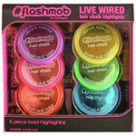 more details on Flashmob Live Wire Hair Chalk Set.