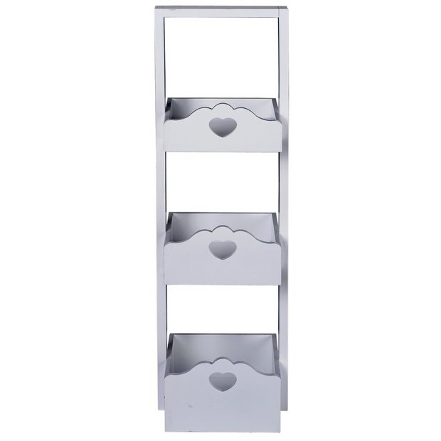 buy heart of house clarisse script 3 tier storage caddy at. Black Bedroom Furniture Sets. Home Design Ideas