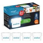more details on Aqua Optima Evolve 60 Day Water Filter - 4 Pack.