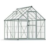 more details on Palram Harmony Silver Greenhouse - 6 x 8ft.