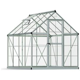 Palram Harmony Silver Greenhouse - 6 x 8ft.