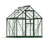 more details on Palram Harmony Green Greenhouse - 6 x 6ft.