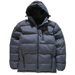 more details on Trespass Men's Grey Puffer Jacket.