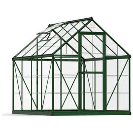 Palram Harmony Green Greenhouse - 6 x 8ft