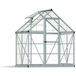 more details on Palram Harmony Silver Greenhouse - 6 x 4ft.