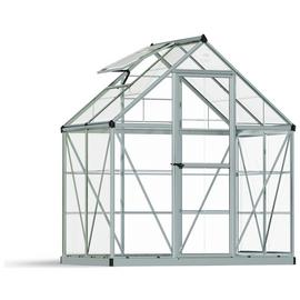 Palram Harmony Silver Greenhouse - 6 x 4ft.