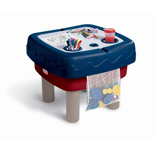 buy little tikes easy store sand and water table at argos. Black Bedroom Furniture Sets. Home Design Ideas