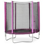 more details on Plum 6ft Trampoline and Enclosure Pink.