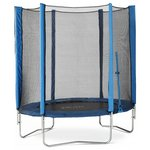 more details on Plum 6ft Trampoline and Enclosure - Blue.