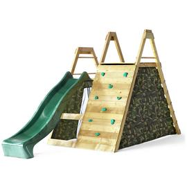 Plum Climbing Pyramid Wooden Play Centre.