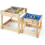 more details on Plum Sandy Bay Wooden Sand Pit and Water Table.