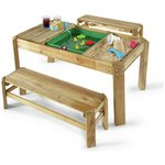 more details on Plum Premium Wooden Activity Table and Benches.