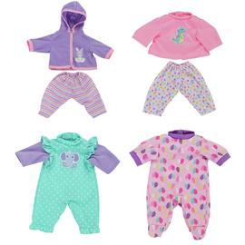Chad Valley Babies to Love Set of 4 Dolls Outfits