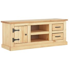 Argos Home San Diego 2 Drawer Solid Pine TV Unit