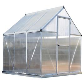 Palram Mythos Silver Greenhouse - 6 x 6ft