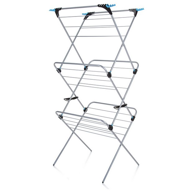 buy minky plus 21m 3 tier indoor clothes airer at. Black Bedroom Furniture Sets. Home Design Ideas