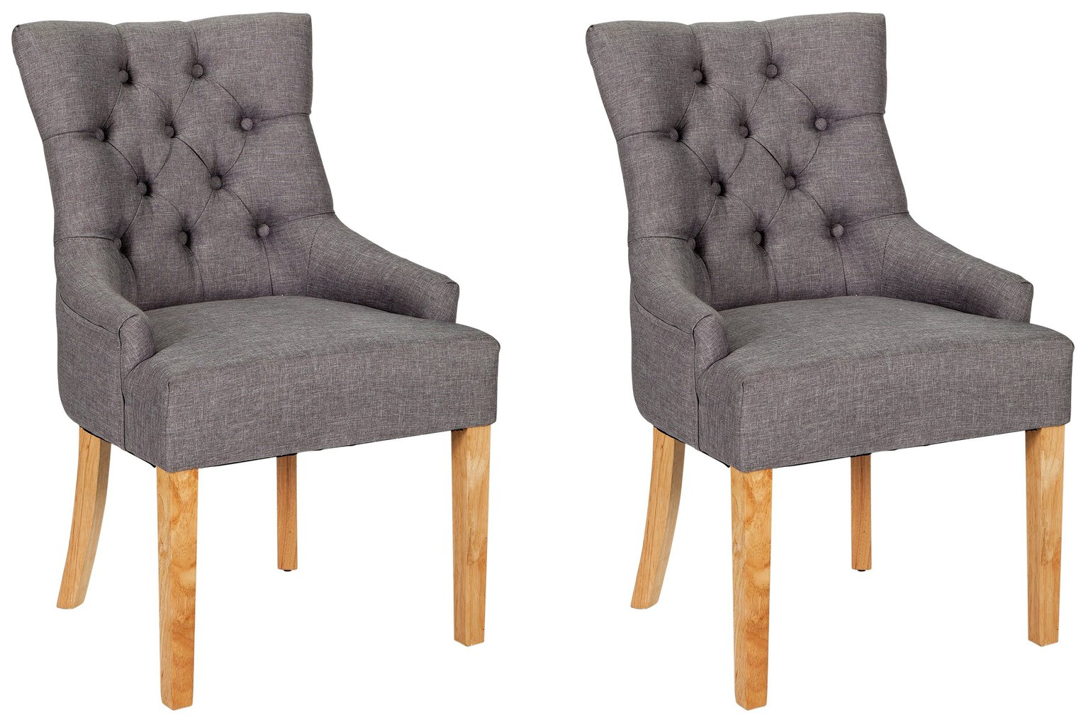 heart of house pair of cherwell dining chairs charcoal ingolf bar stool with backrest white tested for 220 lb width 15 3