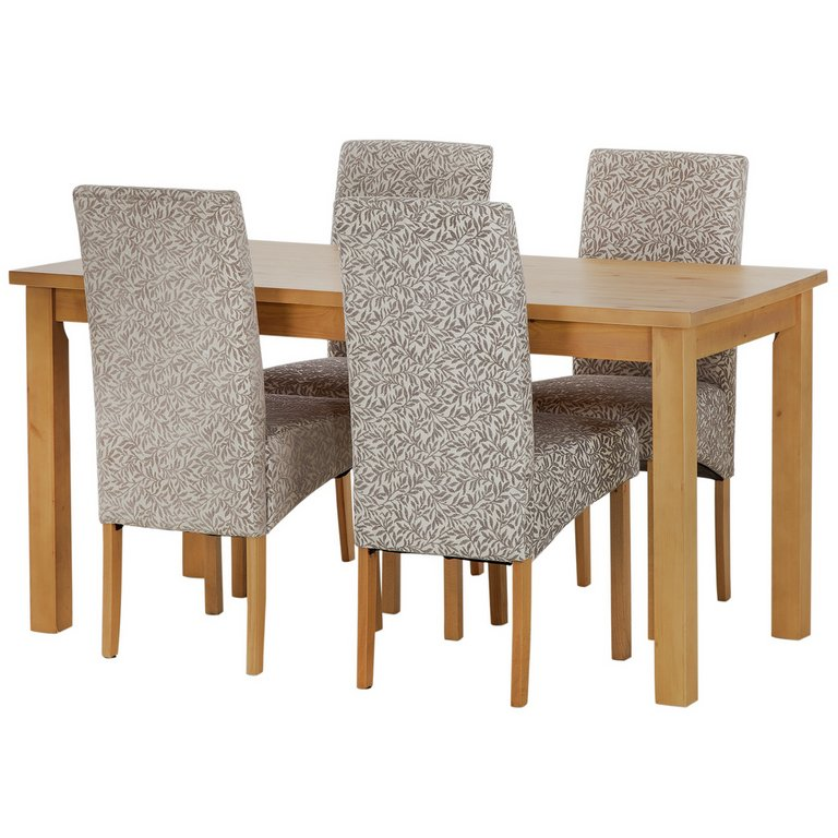 Buy HOME Lincoln Solid Wood Table amp 4 Skirted Chairs  : 3899029RSETMain768ampw620amph620 from www.argos.co.uk size 620 x 620 jpeg 60kB
