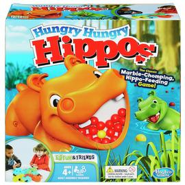 Elefun & Friends Hungry Hungry Hippos Board Game from Hasbro