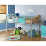 more details on HOME Lucas Mid Sleeper Bed Frame - Grey.