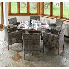 Richmond 6 Seater Rattan Garden Patio Set