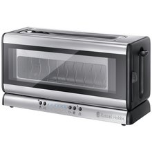 Russell Hobbs 21310 Glass Line 2 Slice Toaster - See-Through