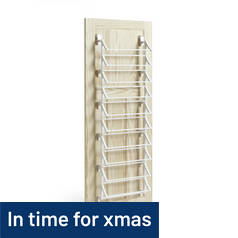 Argos Home Hanging 10 Shelf Shoe Storage Rack - White
