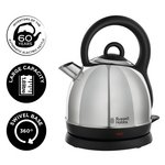 more details on Russell Hobbs Westminster Stainless Steel Dome Kettle 19191.