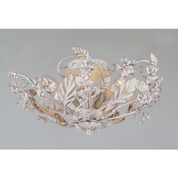 Led Light Fittings Argos: Buy Florence Crystal Light Fitting