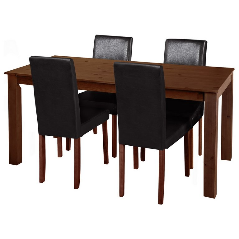 Buy HOME Ashdon Solid Wood Table amp 4 Mid Back Chairs  : 3928811RSETMain768ampw620amph620 from www.argos.co.uk size 620 x 620 jpeg 31kB