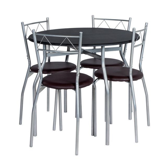 Buy HOME Oslo Round Dining Table & 4 Chairs