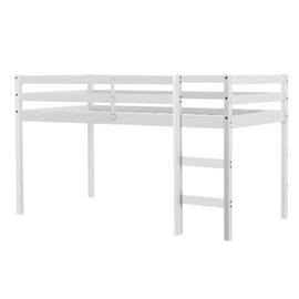 Argos Home Kaycie White Mid Sleeper Shorty Bed Frame