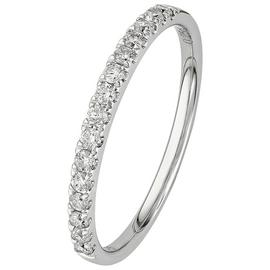 Revere 9ct White Gold 0.25ct tw Claw Set Eternity Ring