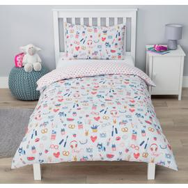 Argos Home Go Girl Bedding Set